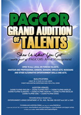 PAGCOR Grand Audition of Talents