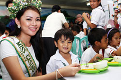 PAGCOR Feeding program