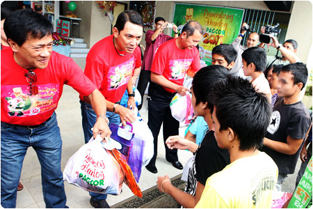 Christmas comes early for 230 abandoned, neglected and abused children in Cebu through PAGCOR's help