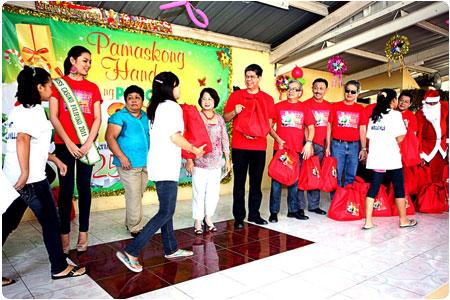 PAGCOR fulfills Christmas wish of 192 abused, neglected and abandoned girls