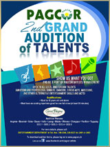 PAGCOR 2nd Grand Audition of Talents