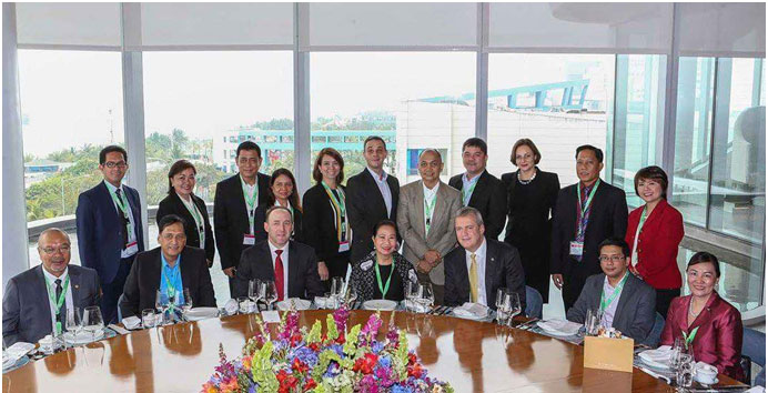 PAGCOR Chief addresses gaming industry stakeholders during the 1st ASEAN Gaming Summit