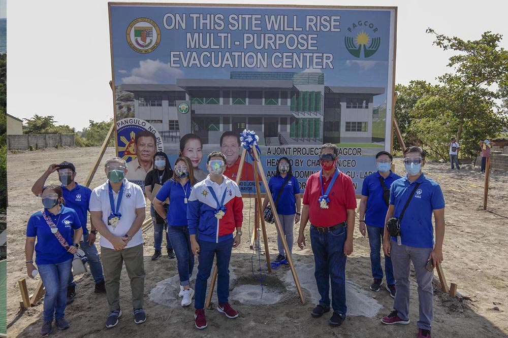 Aurora and Tarlac receive P100 million for the construction of evacuation centers