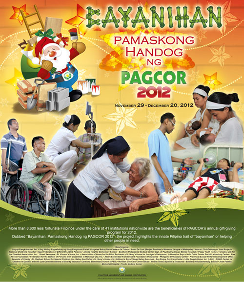 Pamaskong Handog 2012 - Day 20 (BAYANIHAN: Pamaskong Handog ng PAGCOR 2012)