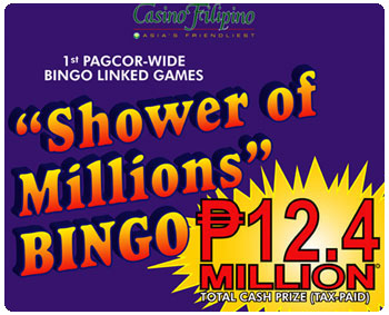 9 Instant millionaires at PAGCOR's