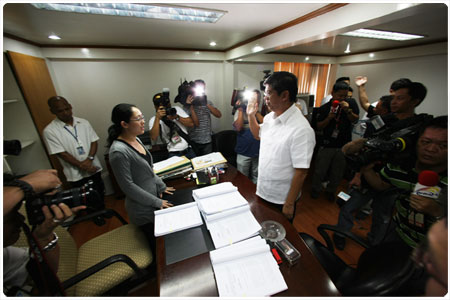 Genuino, four others face malversation charges for using rice donation to typhoon victims in electioneering activities