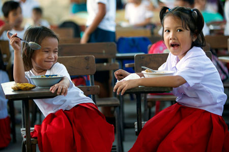 PAGCOR allots P50 million to feed over 13,000 undernourished kids
