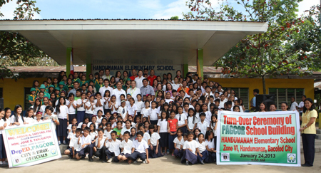 Public Elementary School in Bacolod gets 10 new classrooms