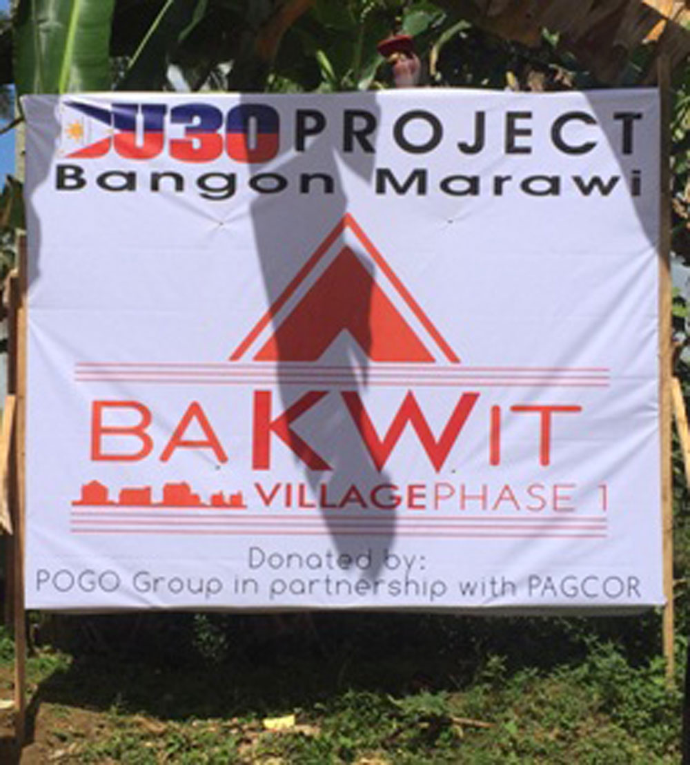 Marawi 'BAKWITS' to get temporary homes by yearend