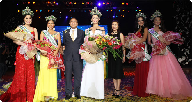 """PAGCOR crowns first Miss Casino Filipino who will represent the Philippines in the """"Queen of the World"""" beauty pageant in Germany"""