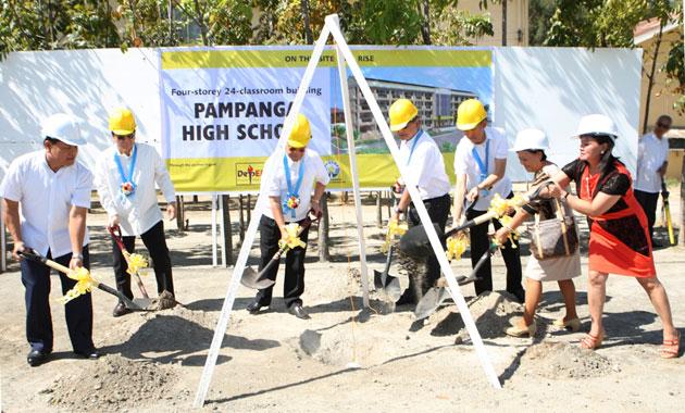 Multi-storey PAGCOR school buildings to rise in Malabon and Pampanga