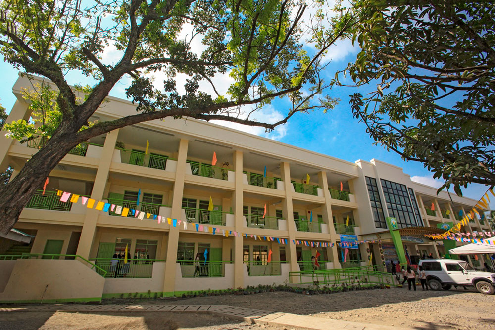 New PAGCOR buildings bring joy to schoolchildren in Davao