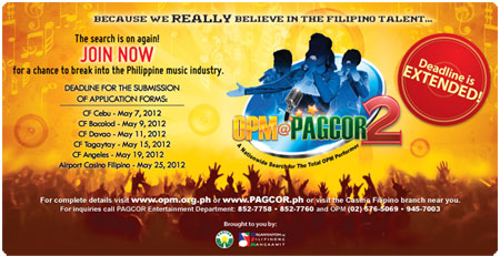 OPM@PAGCOR 2 Registration extended