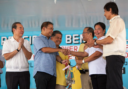 P10-B funding for PAGCOR's school building project