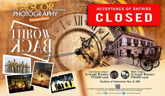 PAGCOR accepts entries for its 4th National Photography Competition