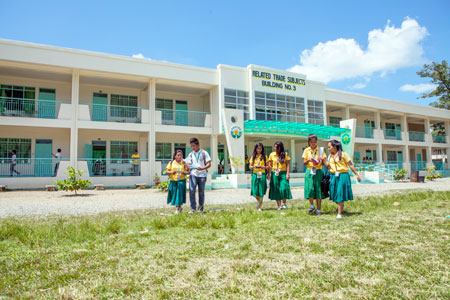 PAGCOR's aid for school building project reaches P7-B