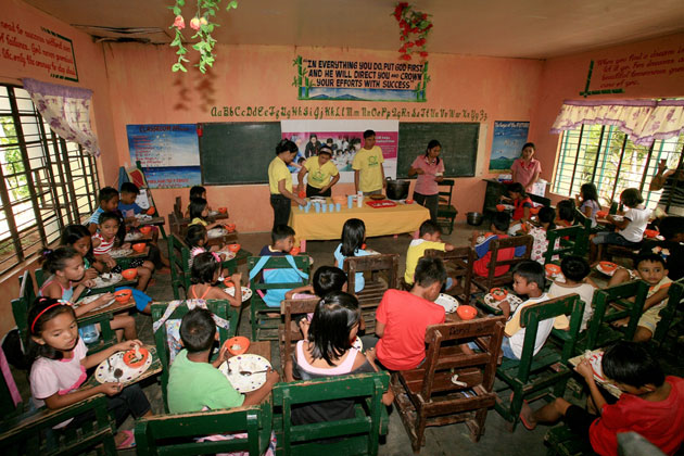 PAGCOR allocates over P42 million for its Feeding Program