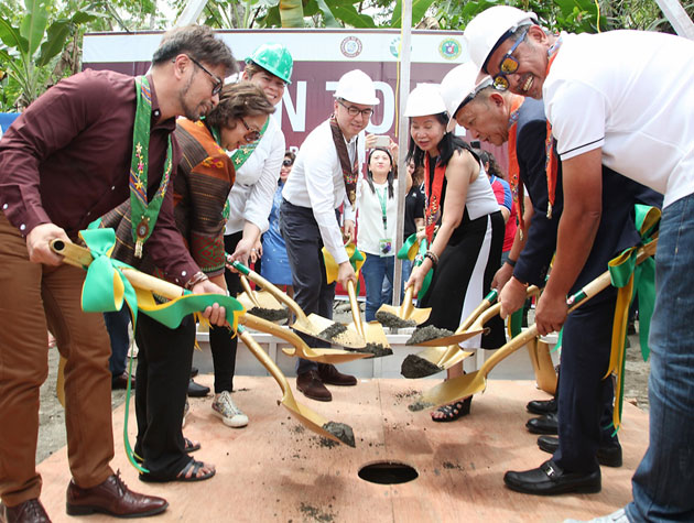 PAGCOR and Resorts World Foundation break ground for new drug rehabilitation facility in Davao