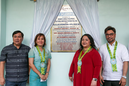 PAGCOR and Resorts World Foundation turn-over new school facilities to Urdaneta City University