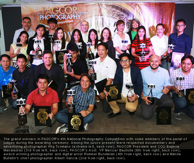 PAGCOR announces 24 Grand Winners in its 4th National Photo Contest