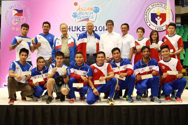 PAGCOR awards P7.9 Million cash incentives to Pinoy athletes