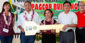 PAGCOR donates 15 classrooms to two public schools in Ilocos Norte