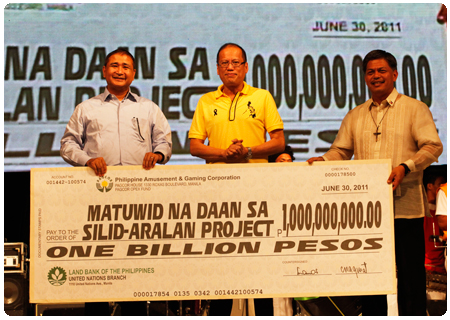 PAGCOR earmarks P1 Billion for the construction of 1,000 classrooms in public schools nationwide