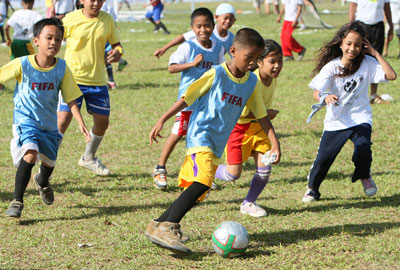 PAGCOR-funded Kasibulan project attracts close to 38,000 young football enthusiasts