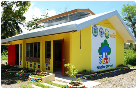 PAGCOR funded Sibol Kindergarten classrooms