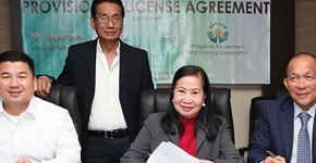 AGCOR grants provisional license for the construction of a US$341 million resort-casino in Cebu
