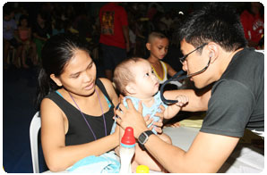 PAGCOR health mission for Manila residents
