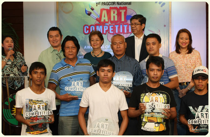 PAGCOR names grand winners in 1st National Art Competition