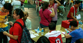 PAGCOR raises funds for Philippine Red Cross - Olongapo Chapter