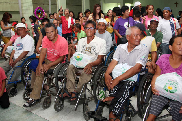 PAGCOR reaches out to disabled individuals in Quezon City