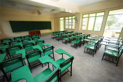 PAGCOR resolves classroom backlog in a Pampanga public school