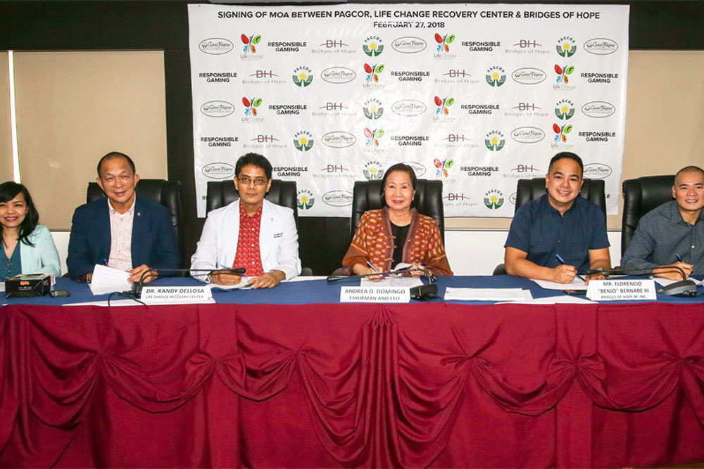 PAGCOR teams up with rehab centers to strengthen responsible gaming campaign