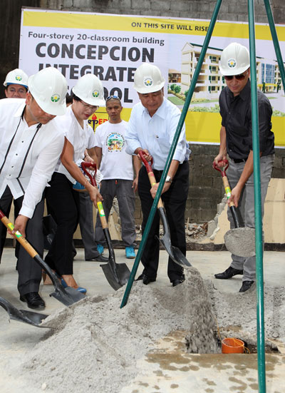 PAGCOR to build 40 classrooms in two public schools in Marikina