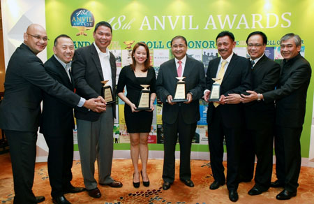 PAGCOR wins four awards in 48th Anvil