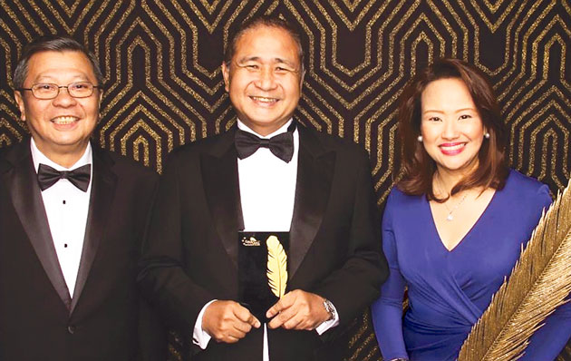 PAGCOR wins Excellence Award in 2015 International Gold Quill