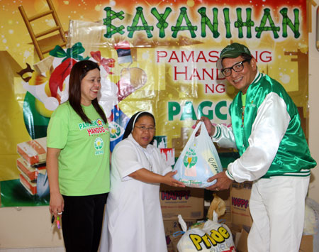 Pamaskong Handog 2012 - Day 20 (PAGCOR touches the lives of hundreds of less fortunate kids in Tagaytay and Cavite)