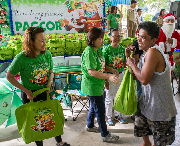 PAGCOR reaches out to indigenous tribes in Antipolo and Pampanga
