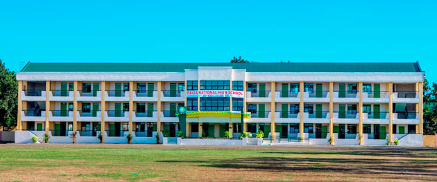 President Aquino inaugurates new PAGCOR school building in Iloilo