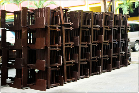 Ramon Magsaysay High School receives 500 new armchairs from PNOY Bayanihan Project