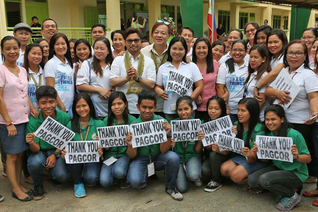 Thousands of students in Manila, Negros Occidental get new classrooms from PAGCOR