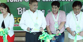 Two public schools in Bulacan receive new school buildings from PAGCOR