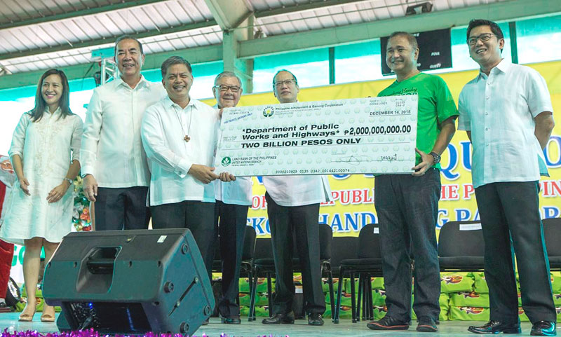 PAGCOR unveils biggest Christmas gift for public school students with P2-billion additional funding for its school building program